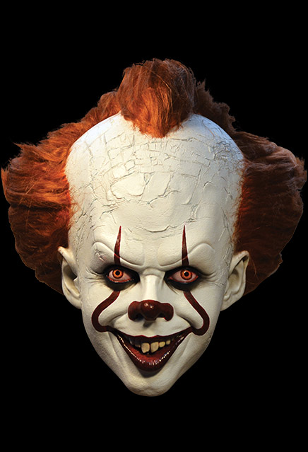 It 2017 Stephen King Pennywise Deluxe Edition Mask