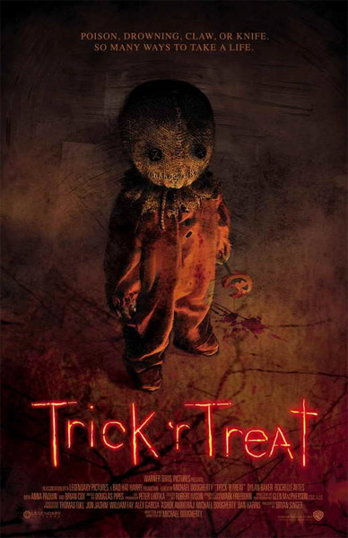 Trick 'r Treat Sam Unmasked Latex Mask