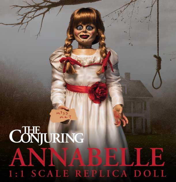 Conjuring Annabelle 1/1 Scale Replica Doll