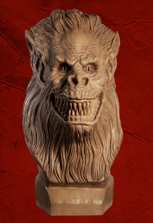 Creepshow Fluffy Crate Beast Statue by Tom Savini