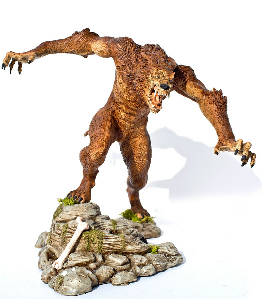 Werewolf Randy Bowen / Frank Frazetta 1/6 Scale Resin Model Kit