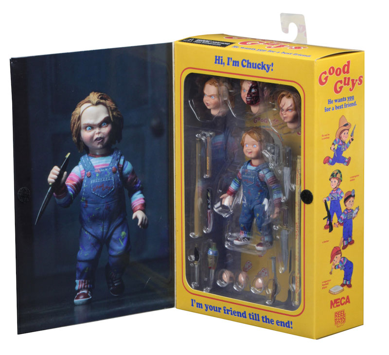 "Child's Play Chucky Ultimate 7"" Scale Figure by Neca"