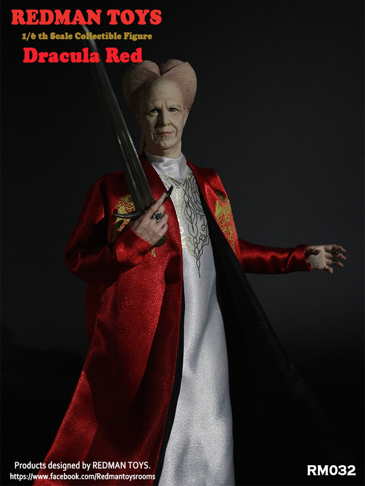 Dracula RED 1/6 Collectible Figure by Redman Toys