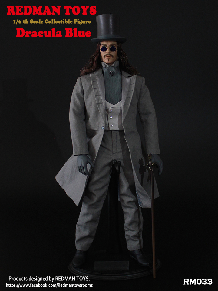 Dracula BLUE 1/6 Collectible Figure by Redman Toys