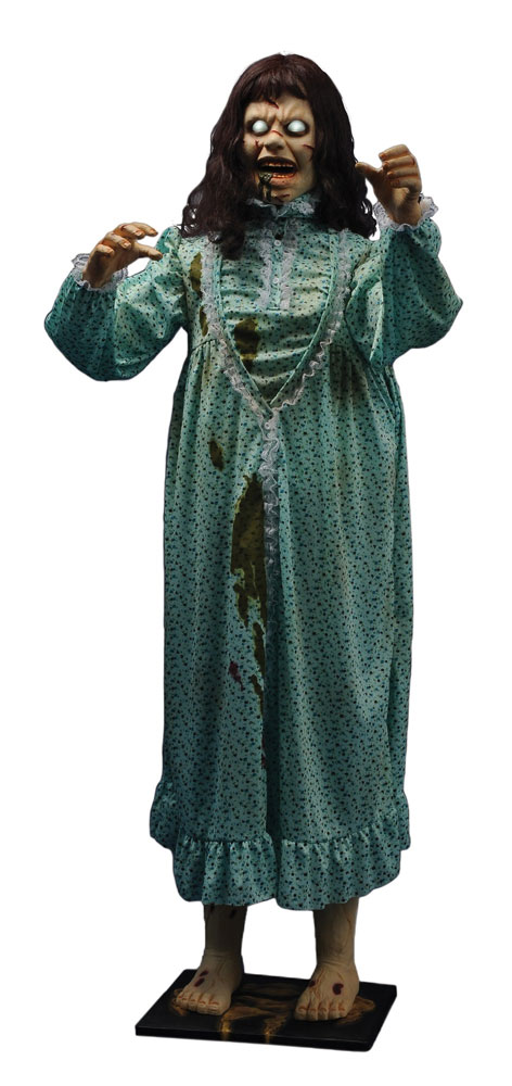 Exorcist Regan Linda Blair Life-Size 5 Foot Tall Animated Display