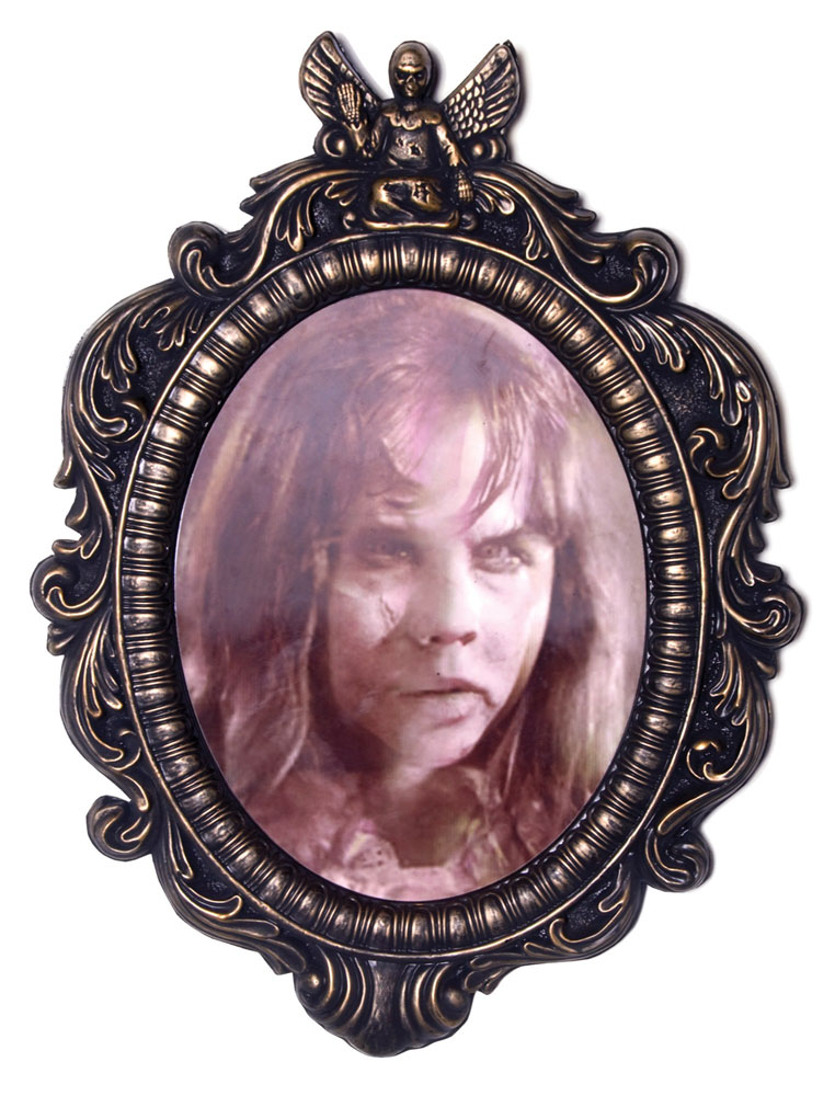 Exorcist Regan Linda Blair Lenticular Framed Portrait