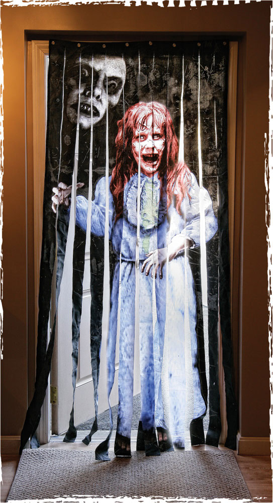 Exorcist Regan Linda Blair Doorway Drape