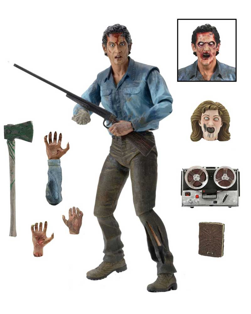 "Evil Dead 2 Ultimate Ash 7"" Scale Action Figure"