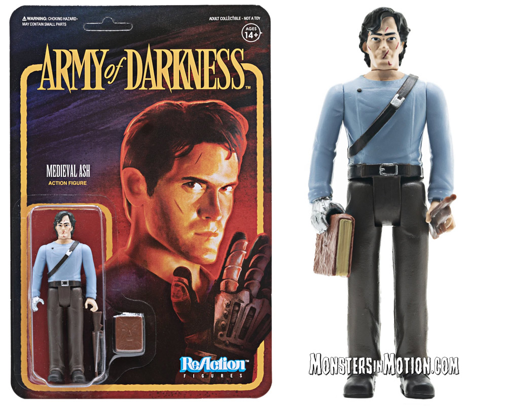Evil Dead Army of Darkness Medieval Ash 3 3/4-Inch ReAction Figure