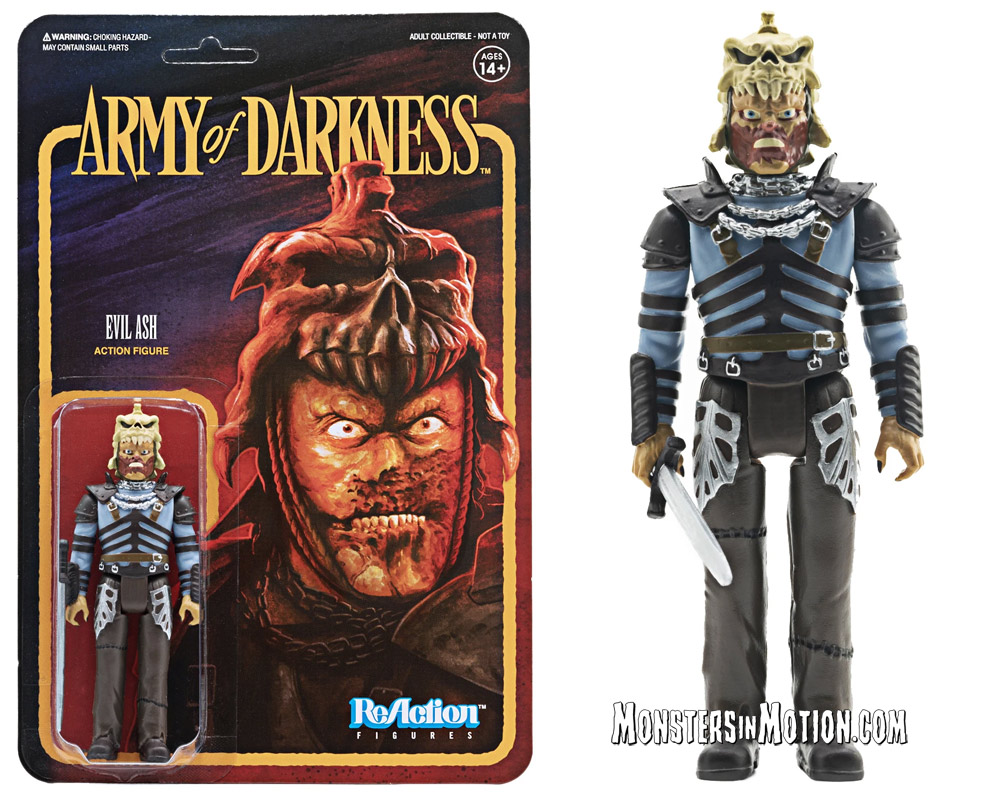Evil Dead Army of Darkness Evil Ash 3 3/4-Inch ReAction Figure