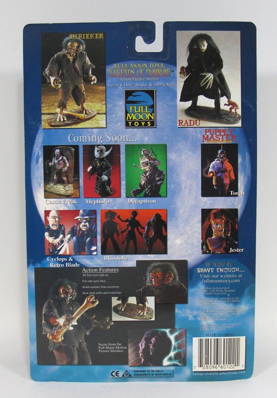 Full Moon Pictures Shrieker Action Figure STANDARD Version