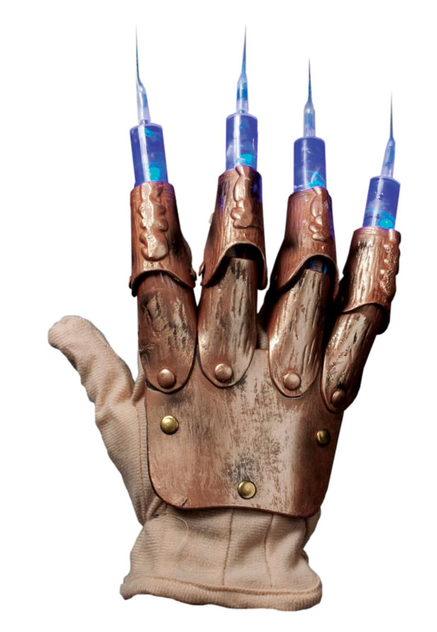 Nightmare On Elm Street Freddy Syringe Glove Prop Replica