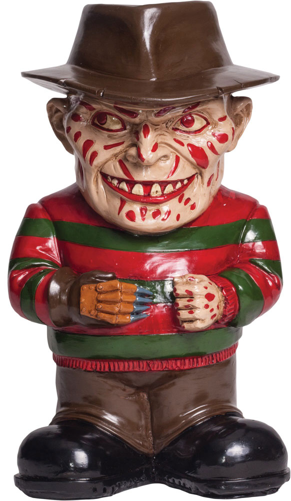 Nightmare On Elm Street Freddy Lawn Garden Gnome