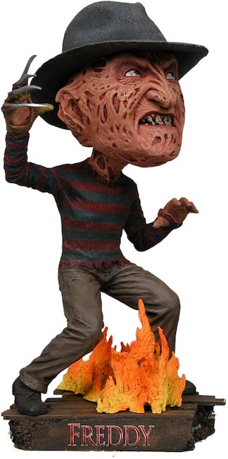 Nightmare On Elm Street Freddy Krueger Head Knocker Toy