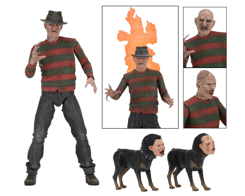 "Nightmare on Elm Street 2 Freddy Krueger Ultimate 7"" Scale Action Figure"