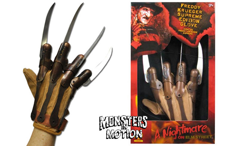 Nightmare On Elm Street Supreme Edition Freddy Glove Replica