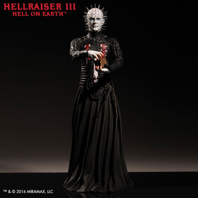"Hellraiser III Pinhead 1/6 Scale 12"" Figure by Mezco"