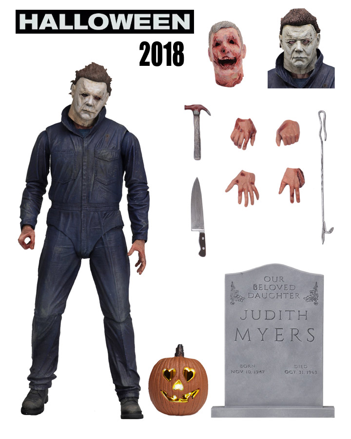 "Halloween 2018 Michael Myers Ultimate 7"" Figure by Neca"