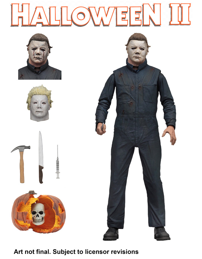 "2018 Movie - 7/"" Scale Action Figure Halloween Ultimate Michael Myers NECA"