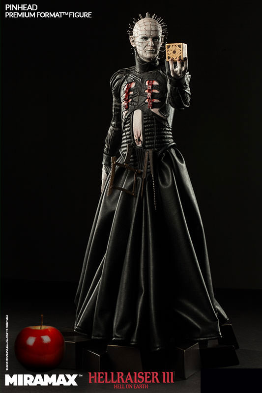 "Hellraiser III Pinhead Premium Format 21"" Tall Figure by Sideshow"