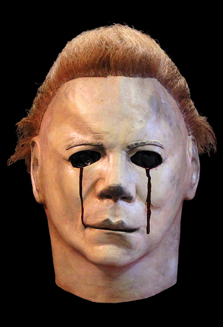 Halloween II Michael Myers Blood Tears Latex Mask