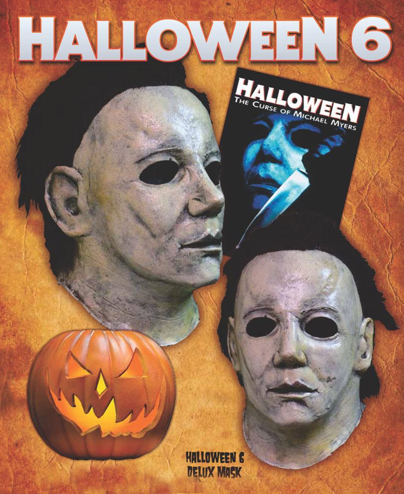 Halloween 8 Resurrection Latex Halloween Mask Halloween 8 ...