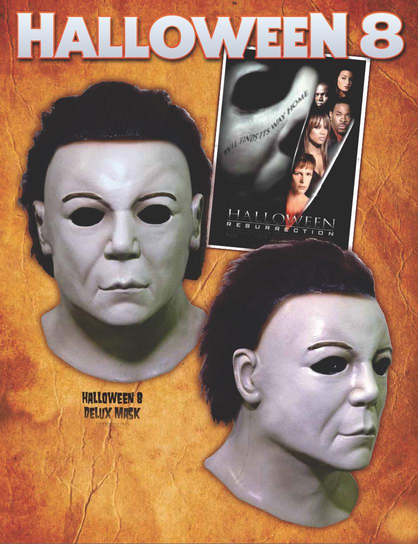 Halloween II Michael Myers Deluxe Latex Halloween Mask Halloween ...