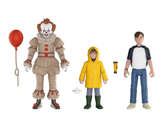 It 2017 Action Figure 3 Pack #1 Pennywise, Georgie and Bill