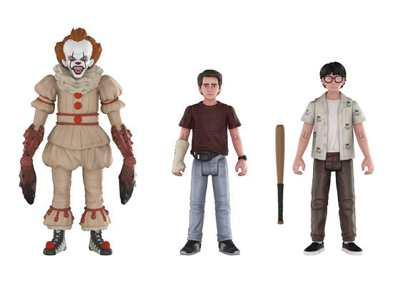It 2017 Action Figure 3 Pack #3 Pennywise, Richie and Eddie