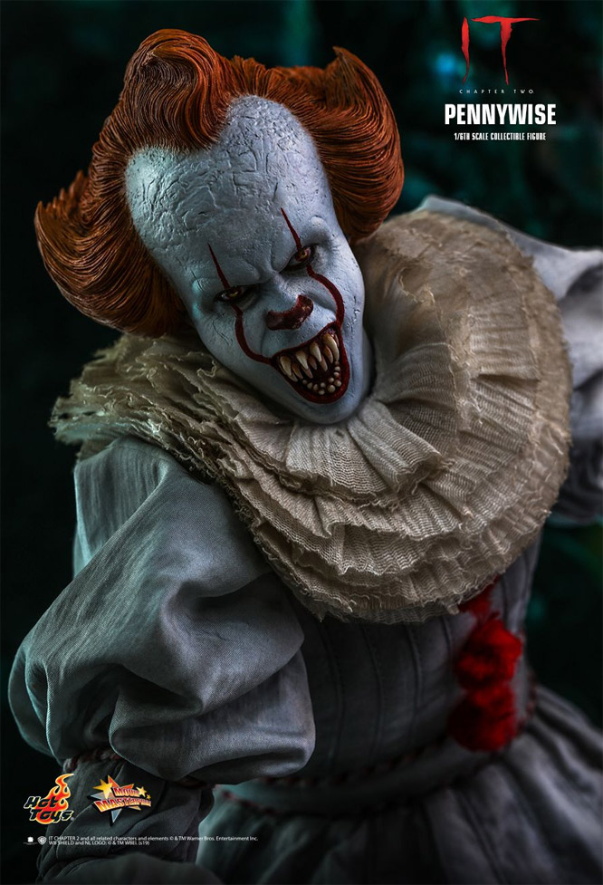 It Chapter 2 2019 Pennywise 1/6 Scale Figure by Hot Toys