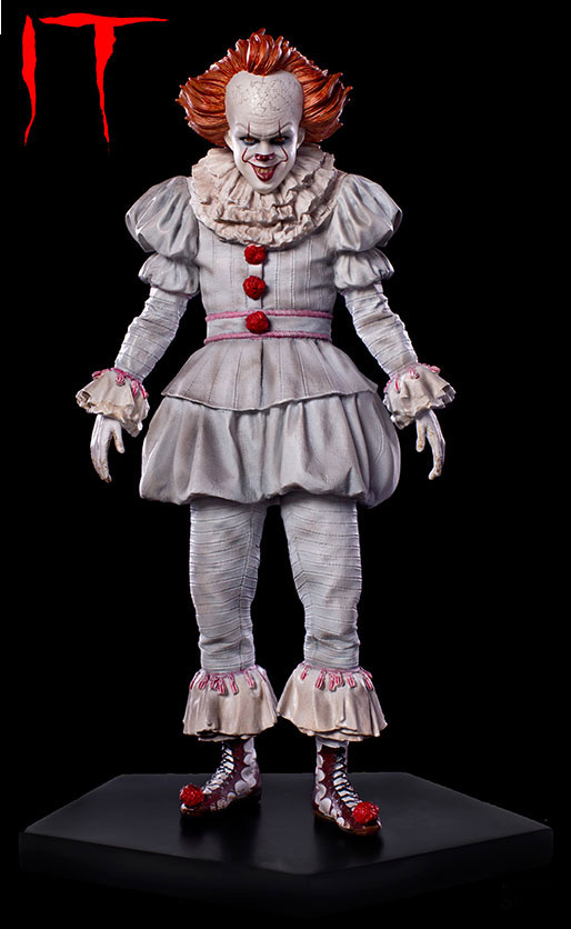 It 2017 Stephen King Pennywise 1/10 Scale Art Scale Statue