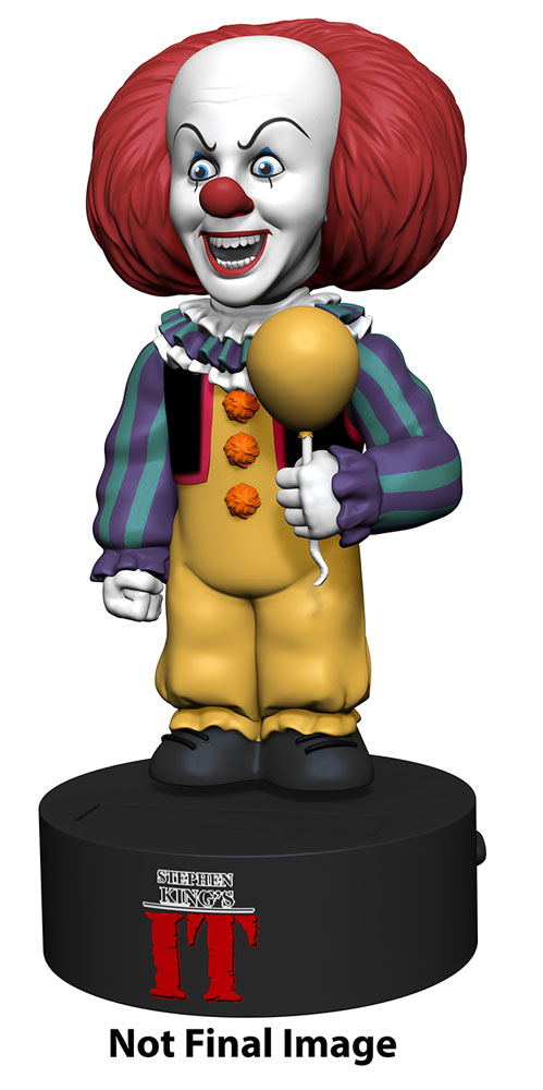 It 1990 Mini-Series Pennywise The Clown Body Knocker Figure