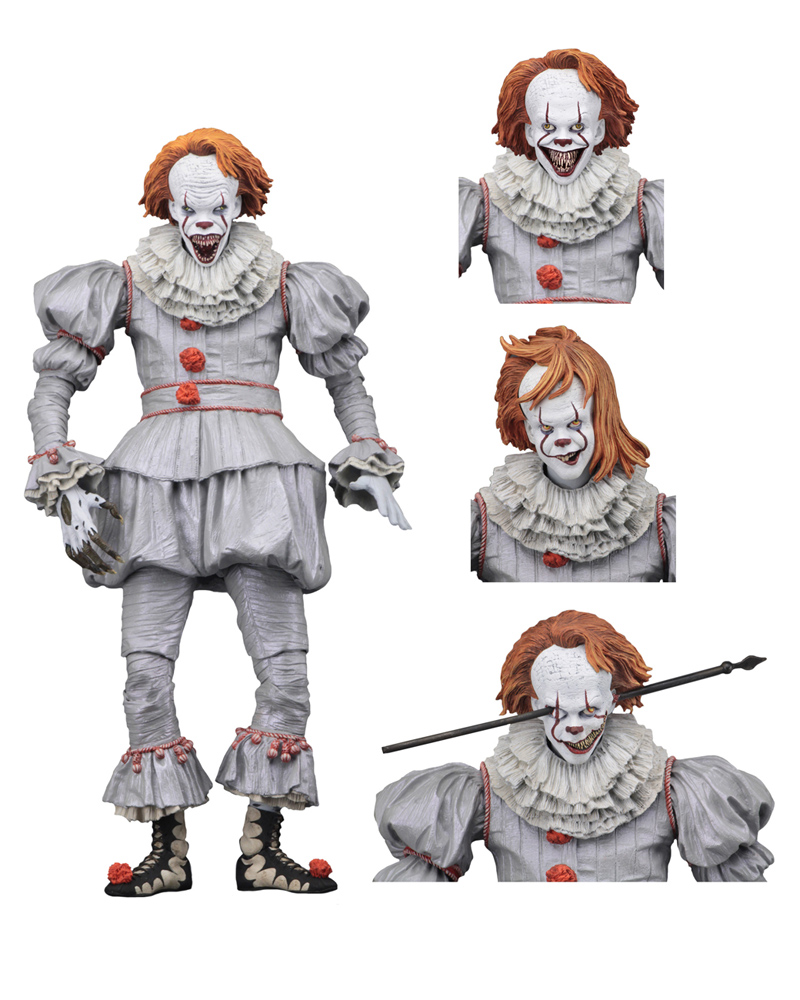 "IT 2017 Pennywise Ultimate Wellhouse Version 7"" Scale Figure"