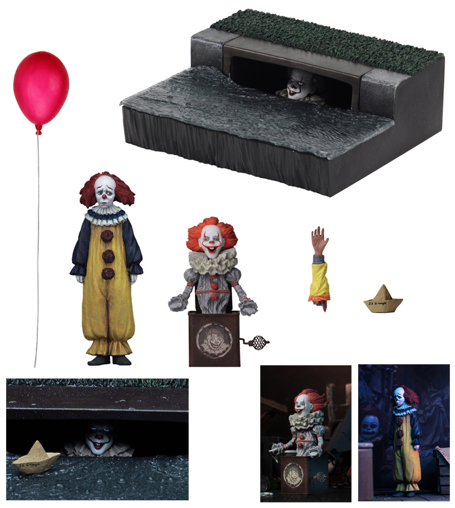 IT 2017 Movie Accessory Pack Figure Set by Neca