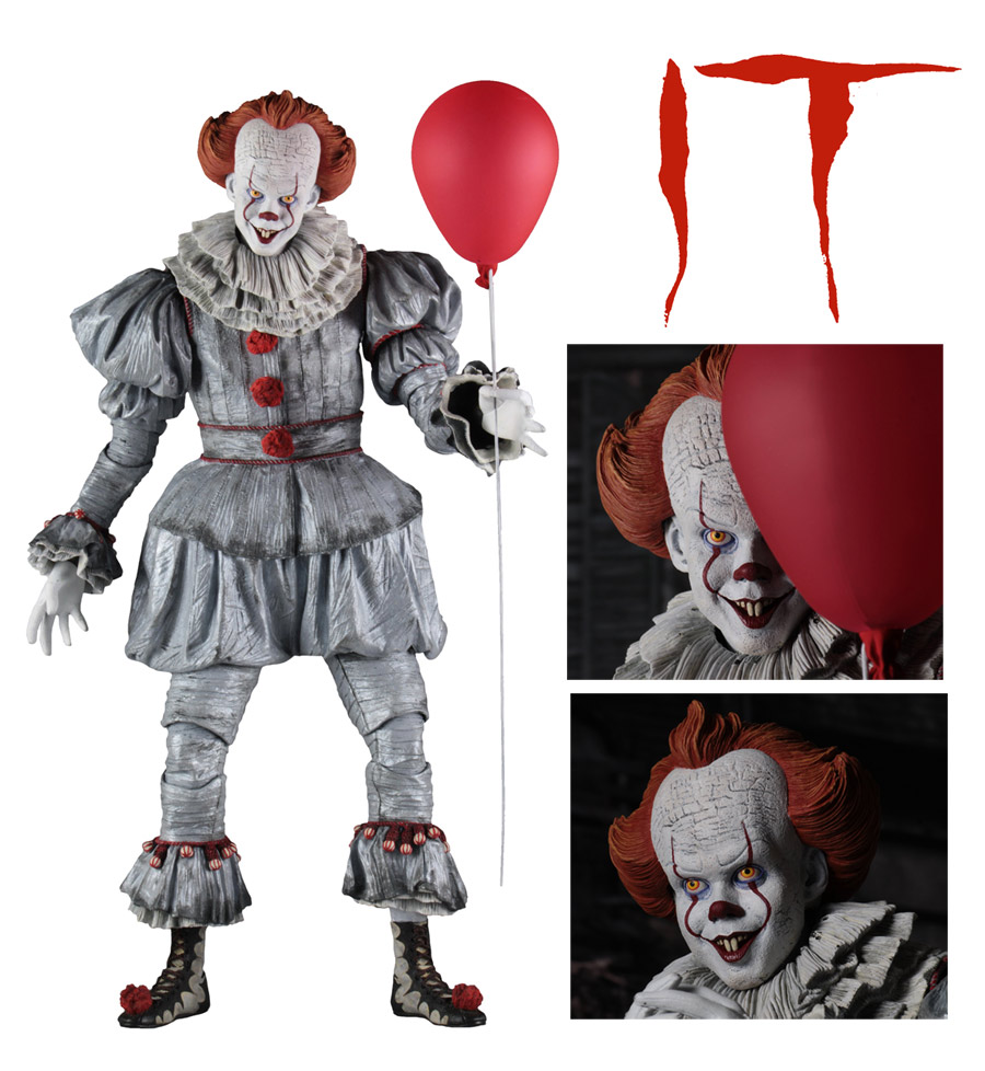 It 2017 Pennywise 1/4 Scale Figure by Neca