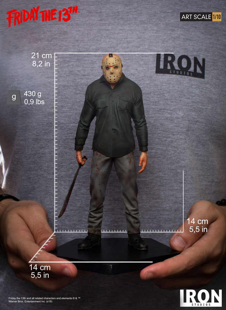 Friday the 13th Jason Voorhees 1/10 Art Scale Statue by Iron Studios