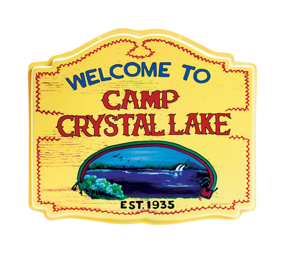 Friday The 13th Jason Voorhees Camp Crystal Lake Sign