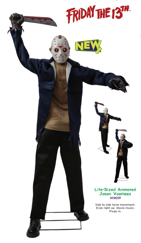 Friday the 13th Jason Voorhees Life Size Animated Display