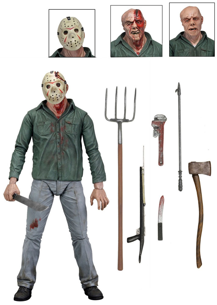 "Friday The 13th Part 3 Jason Voorhees 7"" Scale Ultimate Action Figure"