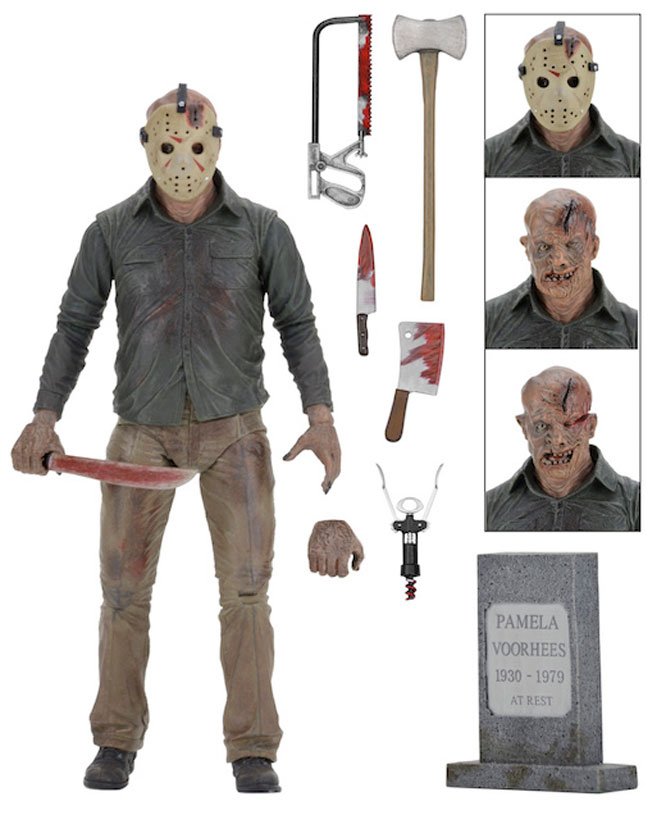 "Friday the 13th Part 4 Ultimate Jason Voorhees 7"" Scale Figure"
