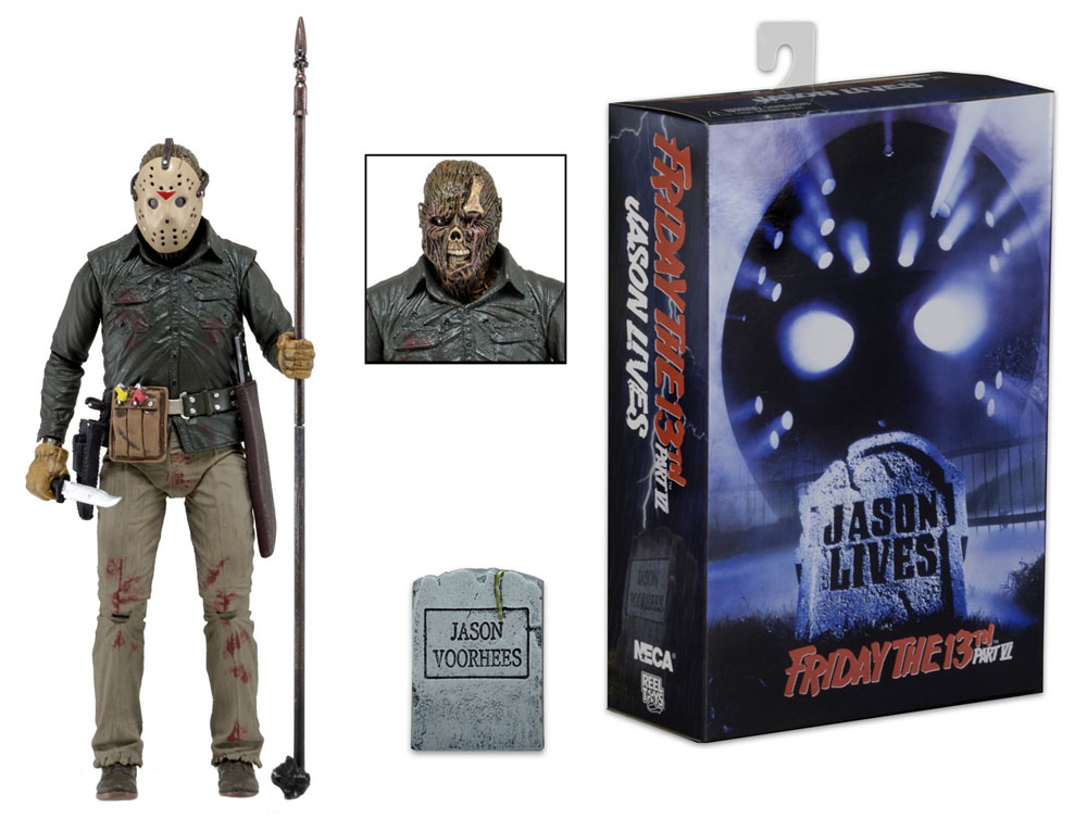 "Friday The 13th Ultimate Jason Part 6 7"" Action Figure"