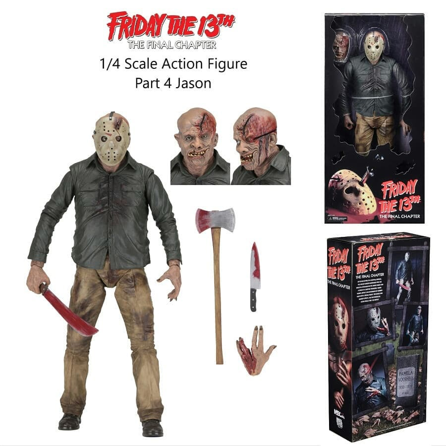 Friday The 13th Part 4 Jason Voorhees 1/4 Scale Figure