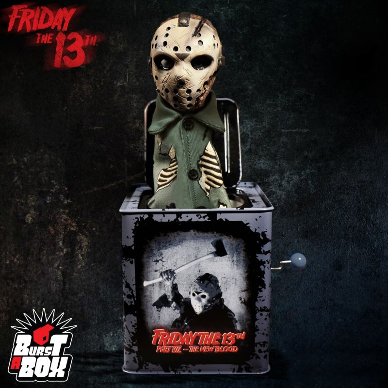 Friday The 13th Part VII Jason Voorhees Jack-In-The-Box Burst-A-Box Toy