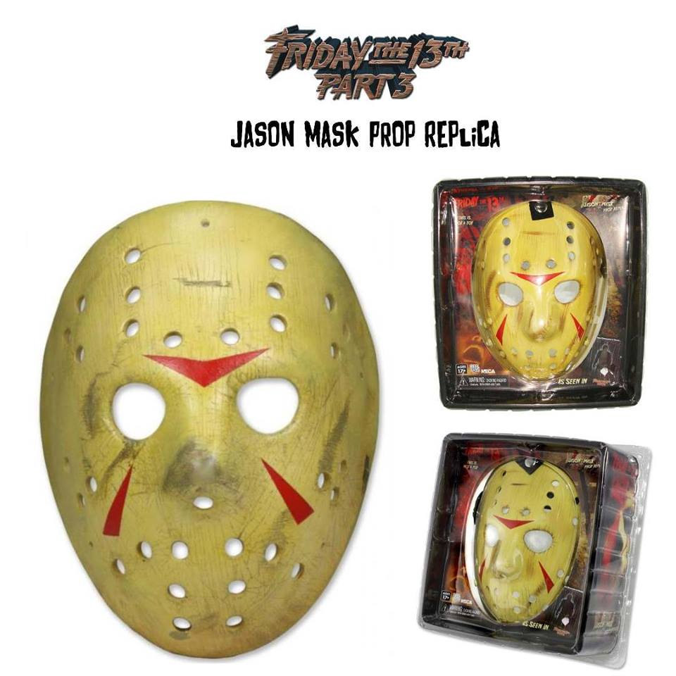Friday the 13th Part 3 Jason's Mask Prop Replica