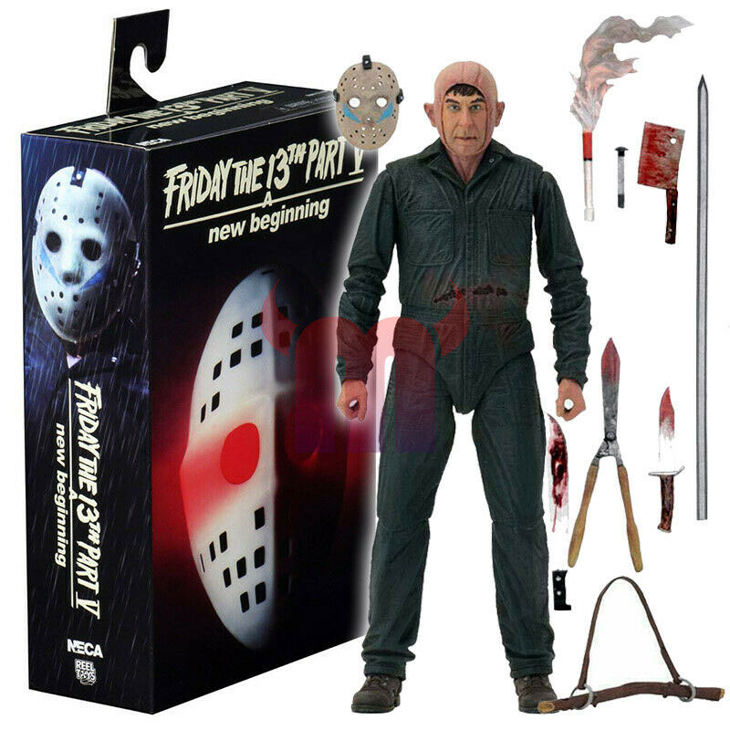 "Friday the 13th Part 5 Roy Burns Ultimate 7"" Scale Figure by Neca"