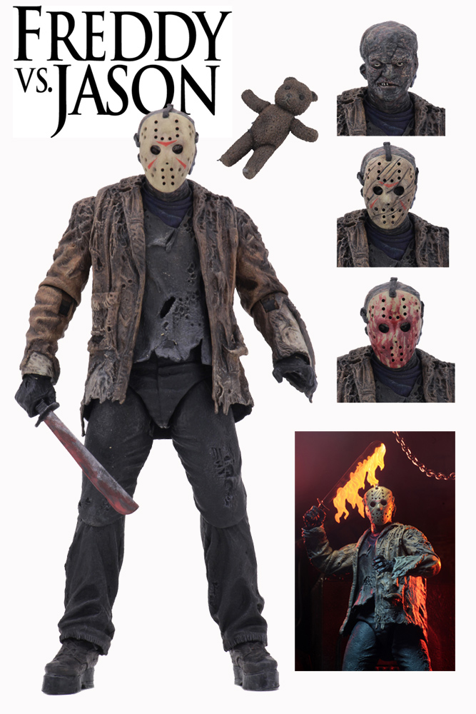 "Freddy Vs. Jason Ultimate Jason 7"" Scale Figure by Neca"