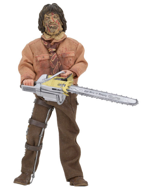 "Texas Chainsaw Massacre 3 Leatherface 8"" Clothed Action Figure"