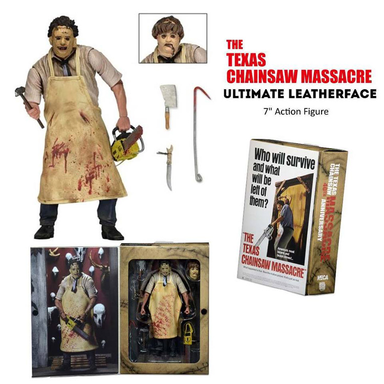 Texas Chainsaw Massacre Ultimate Leatherface 7-Inch Scale Action Figure