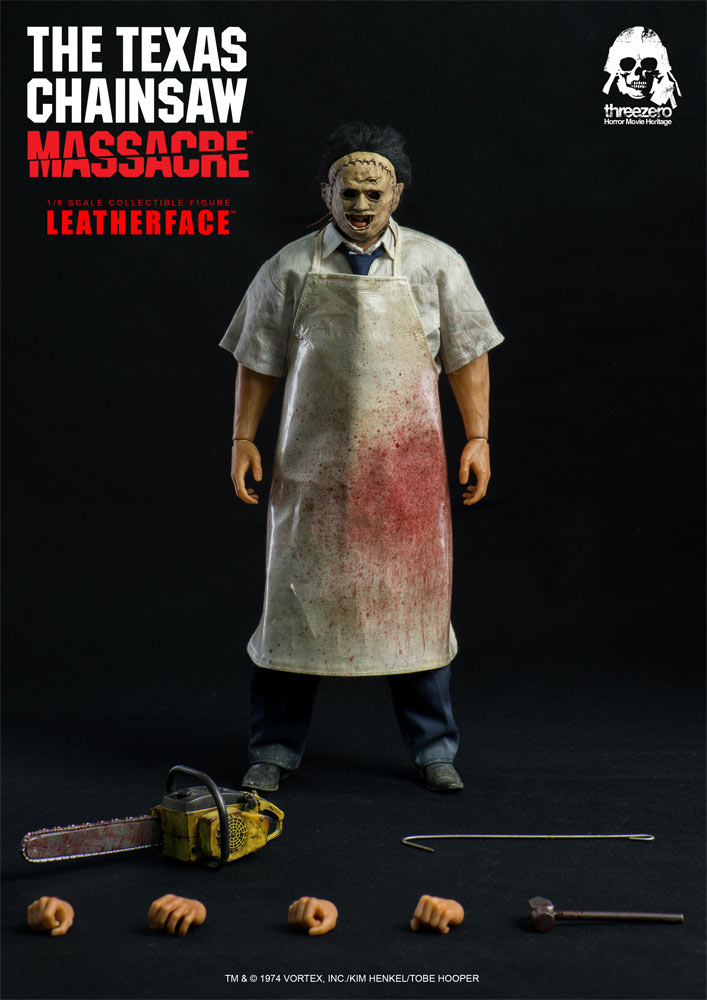 Texas Chainsaw Massacre Leatherface 1/6 Scale Figure by Three Zero