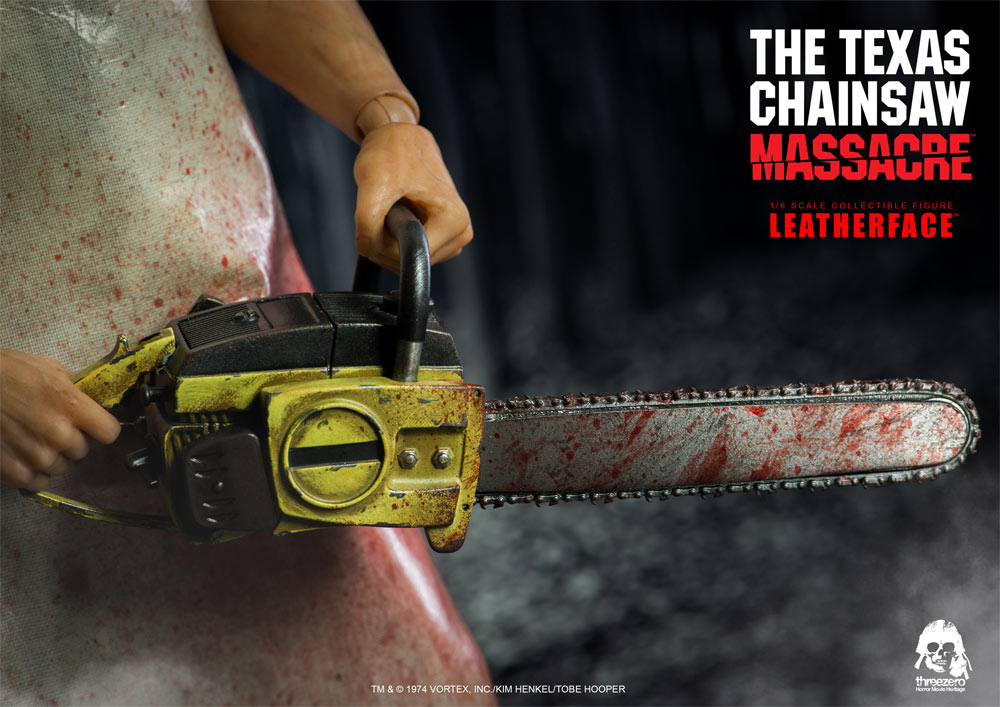 Texas Chainsaw Massacre Leatherface 1/6 Scale Figure by Three Zero - Click Image to Close
